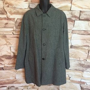 Marc Jacobs Wool Blend Overcoat, Size 52